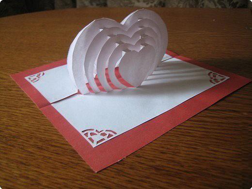 Как делать открытку своей маме своими руками чтобы там вылазил зайчык