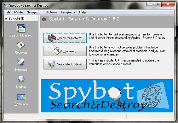 Spybot – Search & Destroy Portable 2.7.64.0 - Download ...
