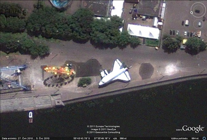 Buran Googleearth